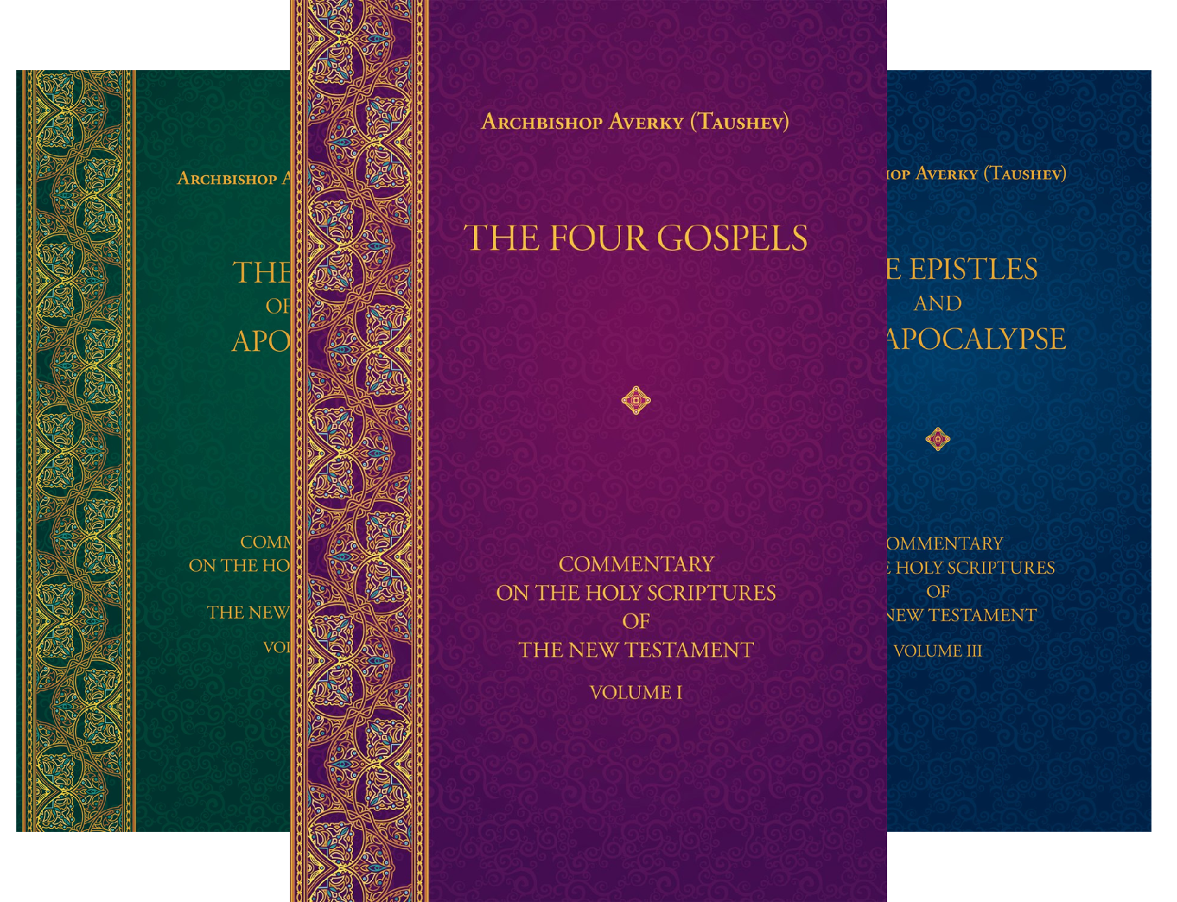 Commentary on the Holy Scriptures of the New Testament (3 Book Series)