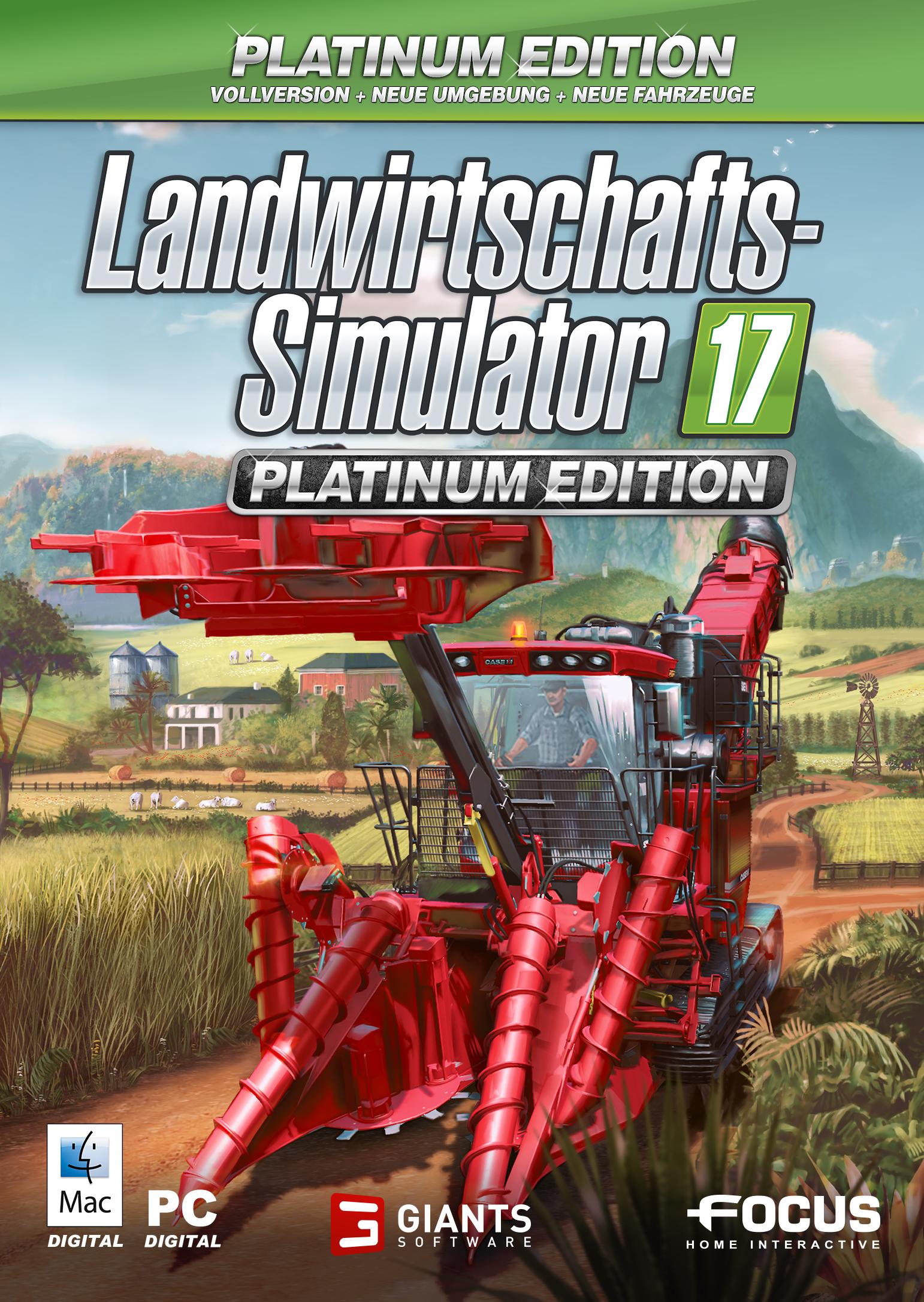 Landwirtschafts-Simulator 17: Platinum Edition [PC/Mac Code - Steam]