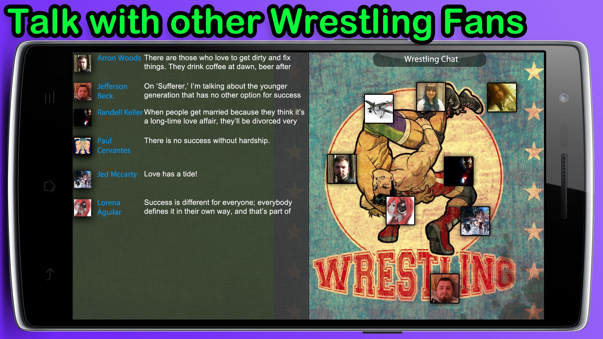 wrestling chat