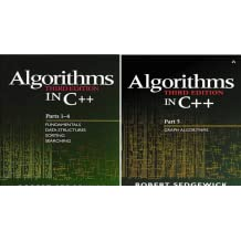 Bundle of Algorithms in C++,  Parts 1-5: Fundamentals, Data Structures, Sorting, Searching, and Graph Algorithms (3rd Edition) (Pts. 1-5) (2 Book Series)