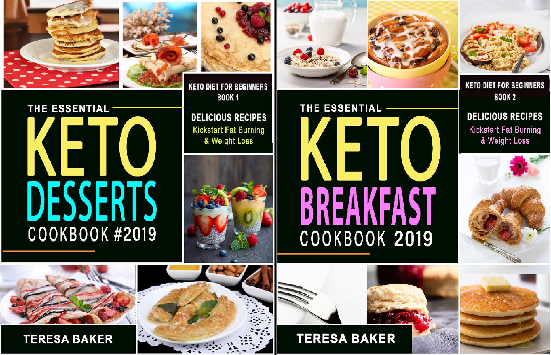 Keto Diet for Beginners (2 Book Series)
