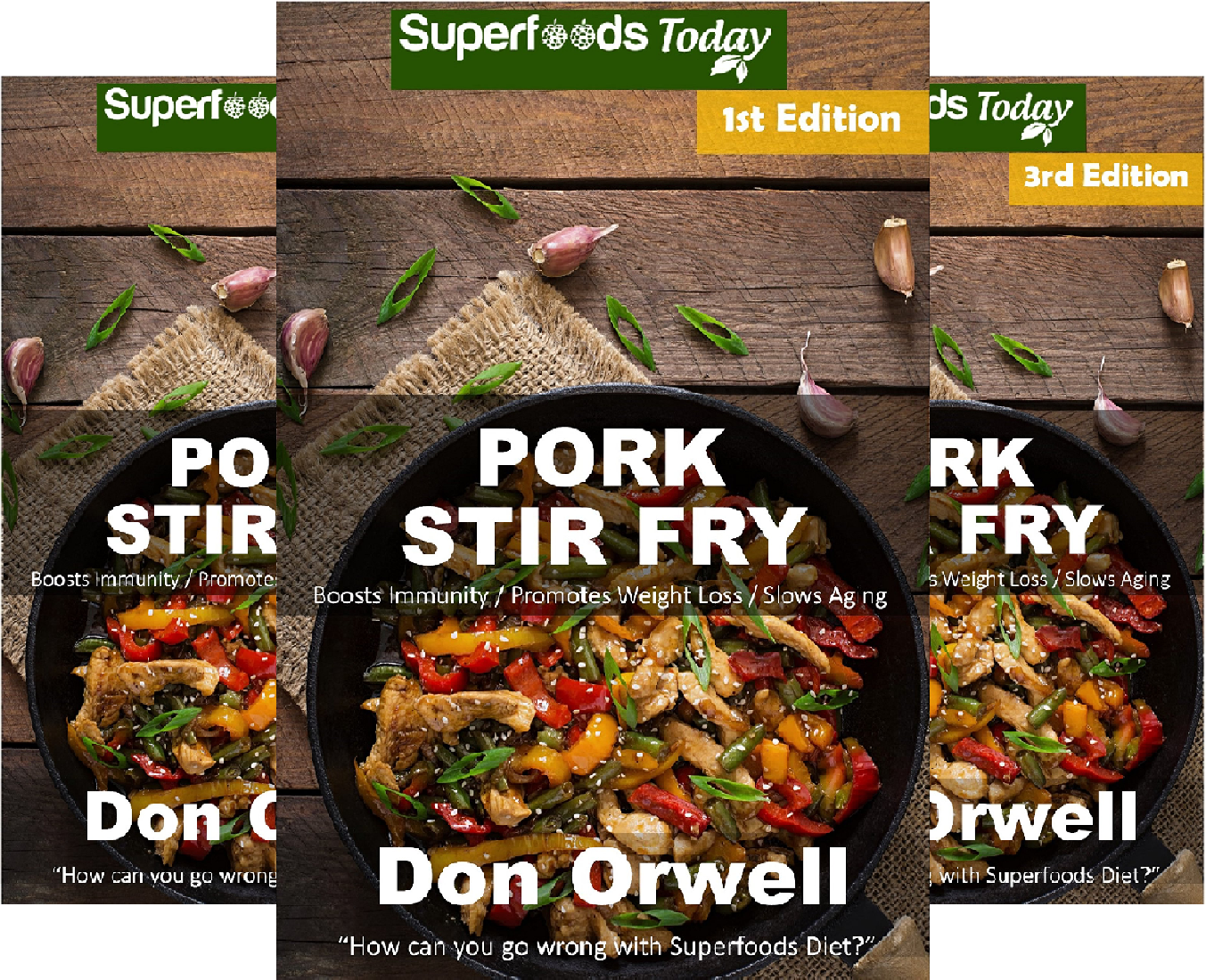 Pork Stir Fry (6 Book Series)
