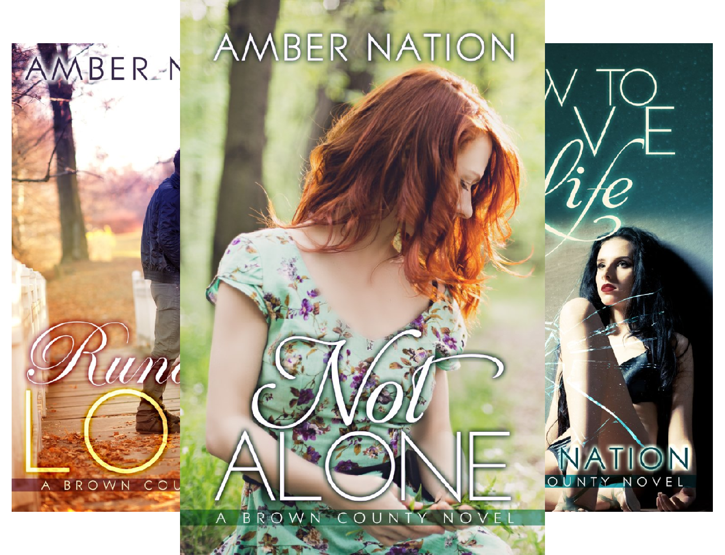 Brown County (4 Book Series) (Amber Nation Books)