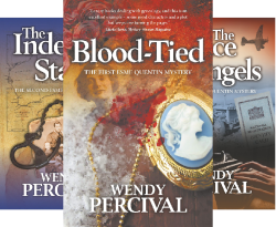 Esme Quentin Mystery (3 Book Series) by  Wendy Percival