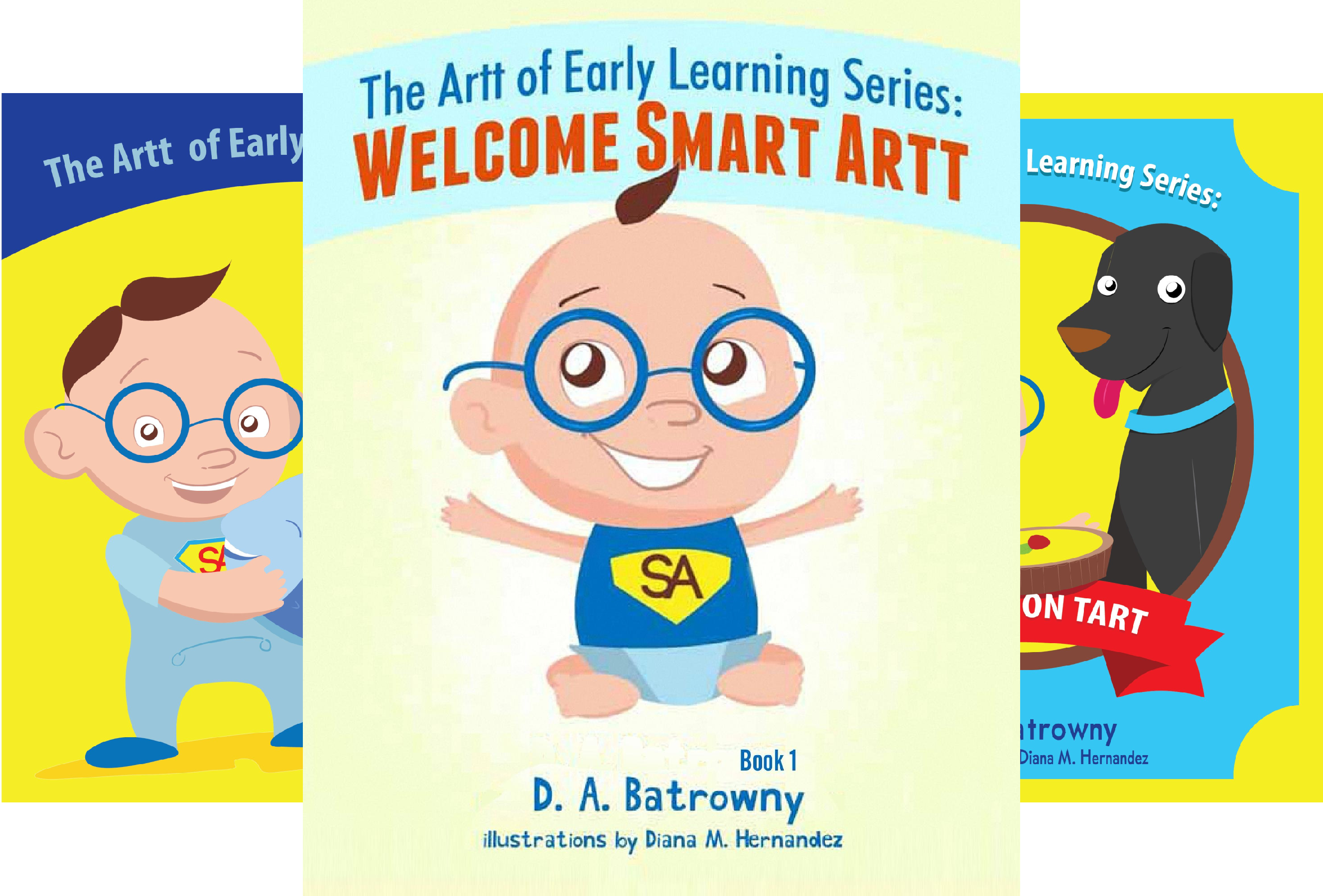 The Artt Of Early Learning Series (5 Book Series)