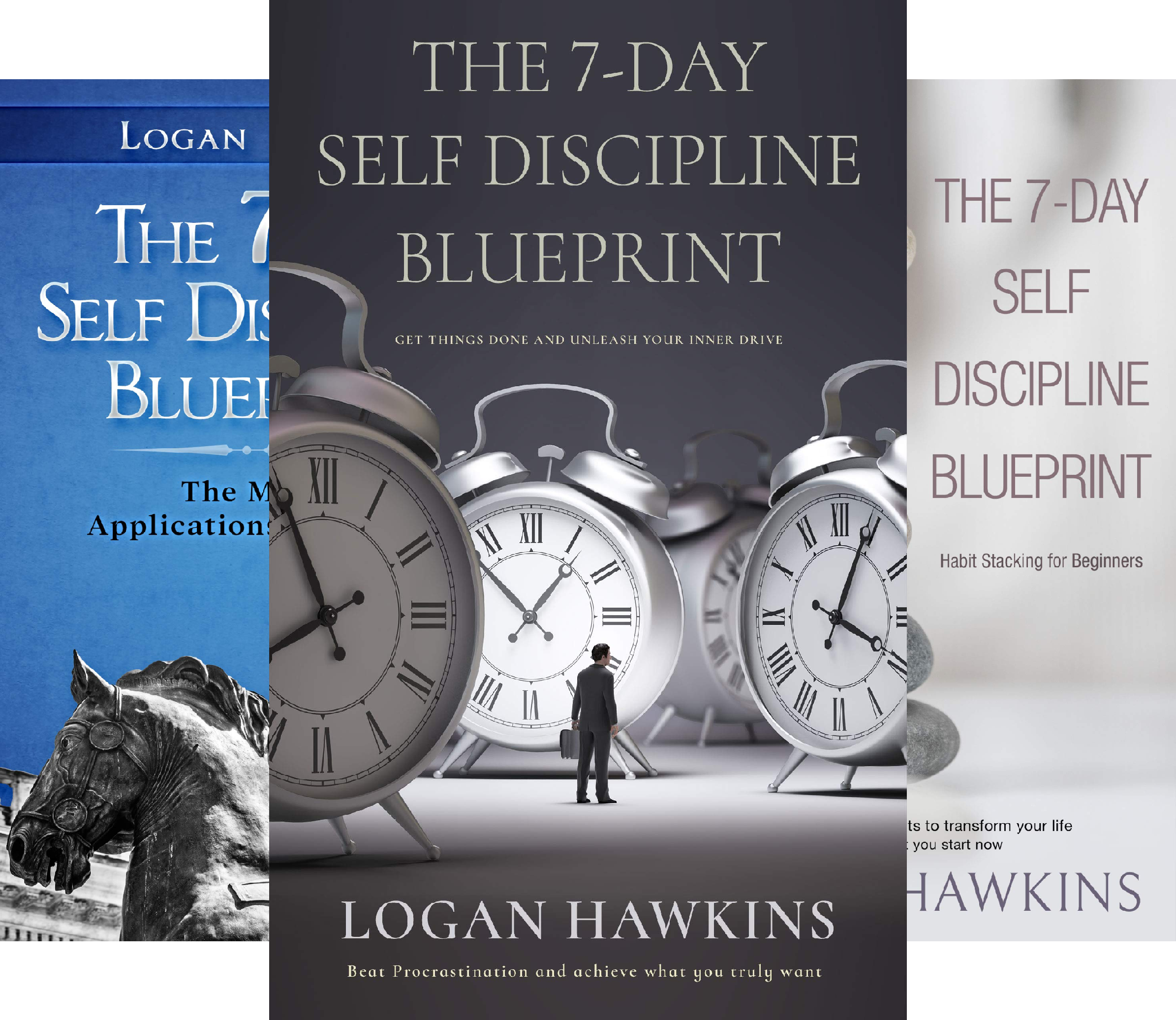 Self Discipline Blueprint (3 Book Series)