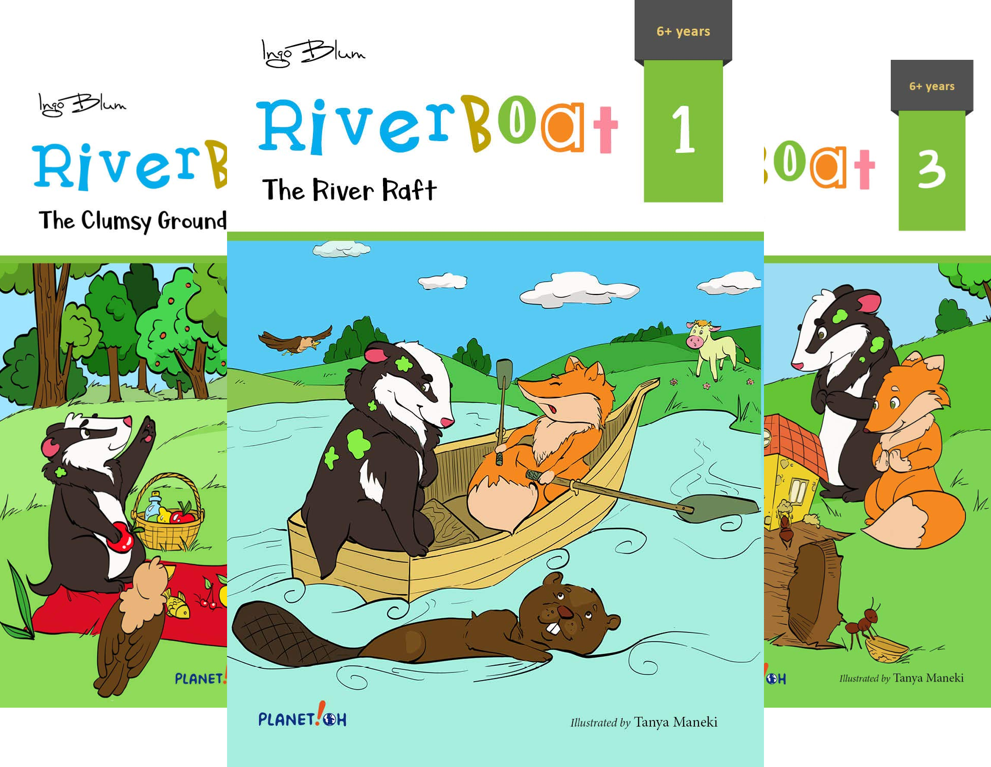 Riverboat Series Chapter Books (3 Book Series)