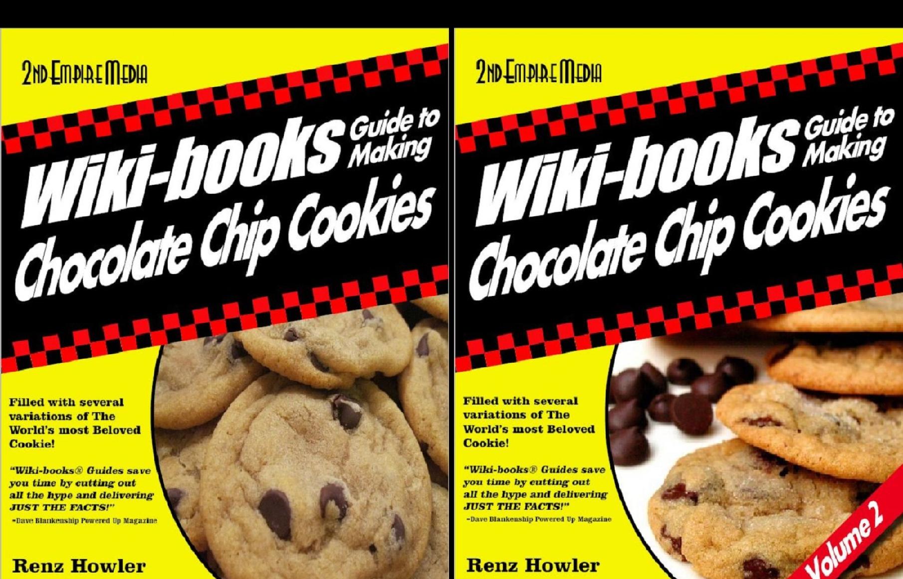 "WIKI-BOOKS ""CHOCOLATE CHIP COOKIES"" (2 Book Series)"