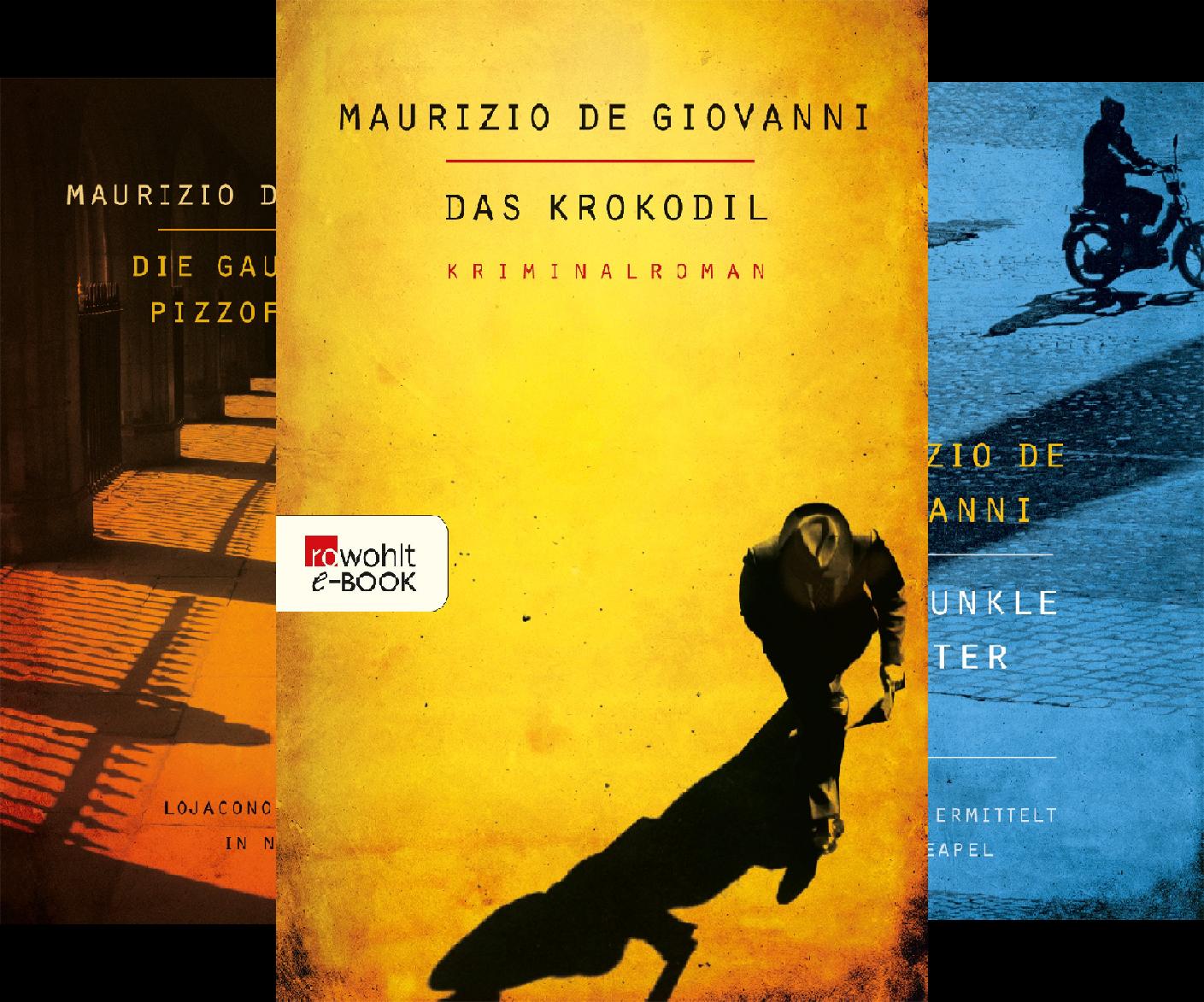 Lojacono ermittelt in Neapel (Reihe in 4 Bänden)