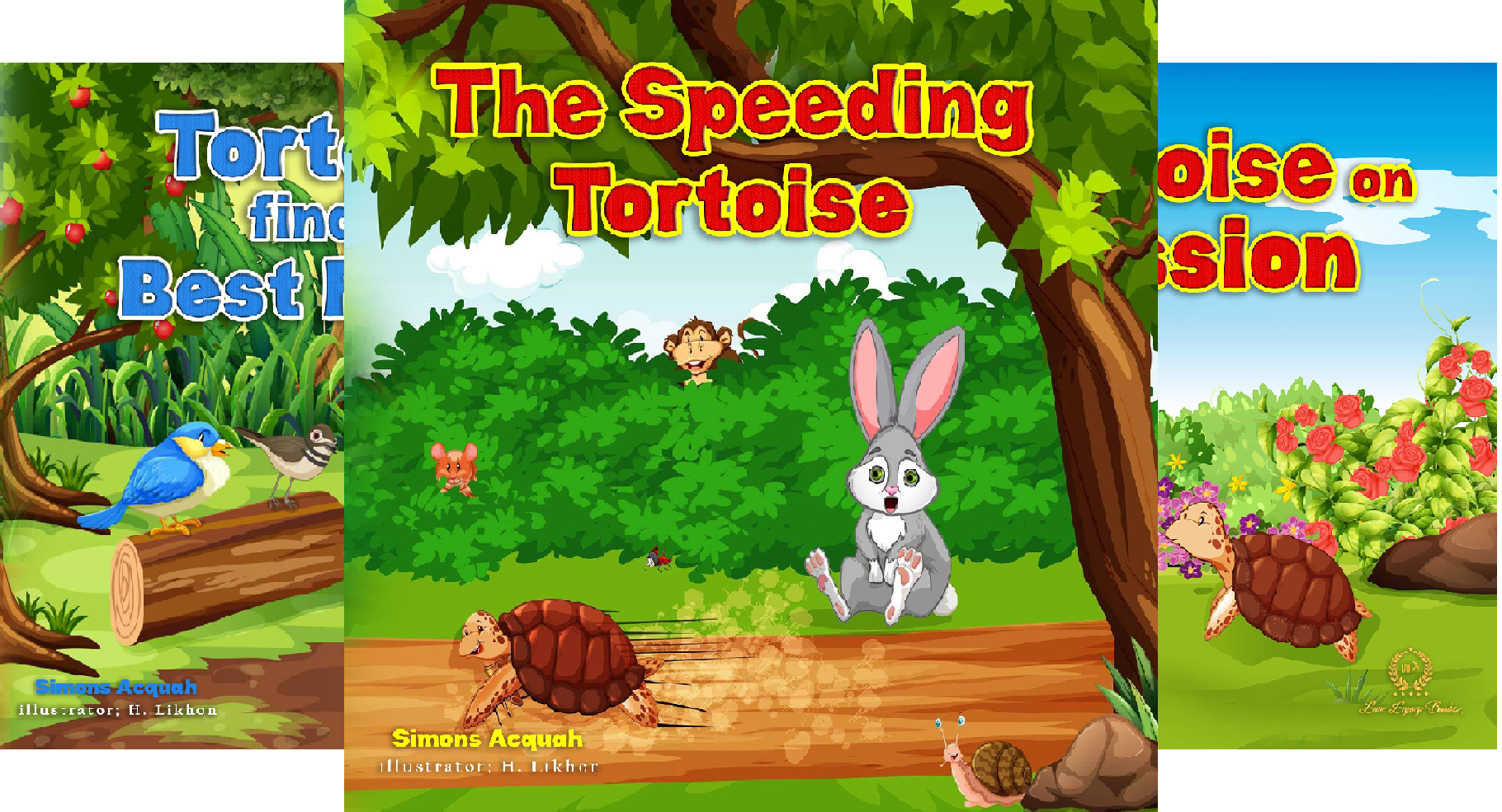 Tortoise Adventure Series (4 Book Series)