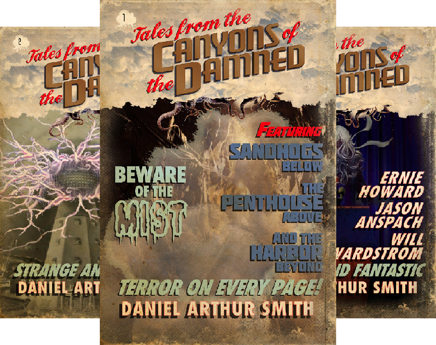 Tales from the Canyons of the Damned (34 Book Series)