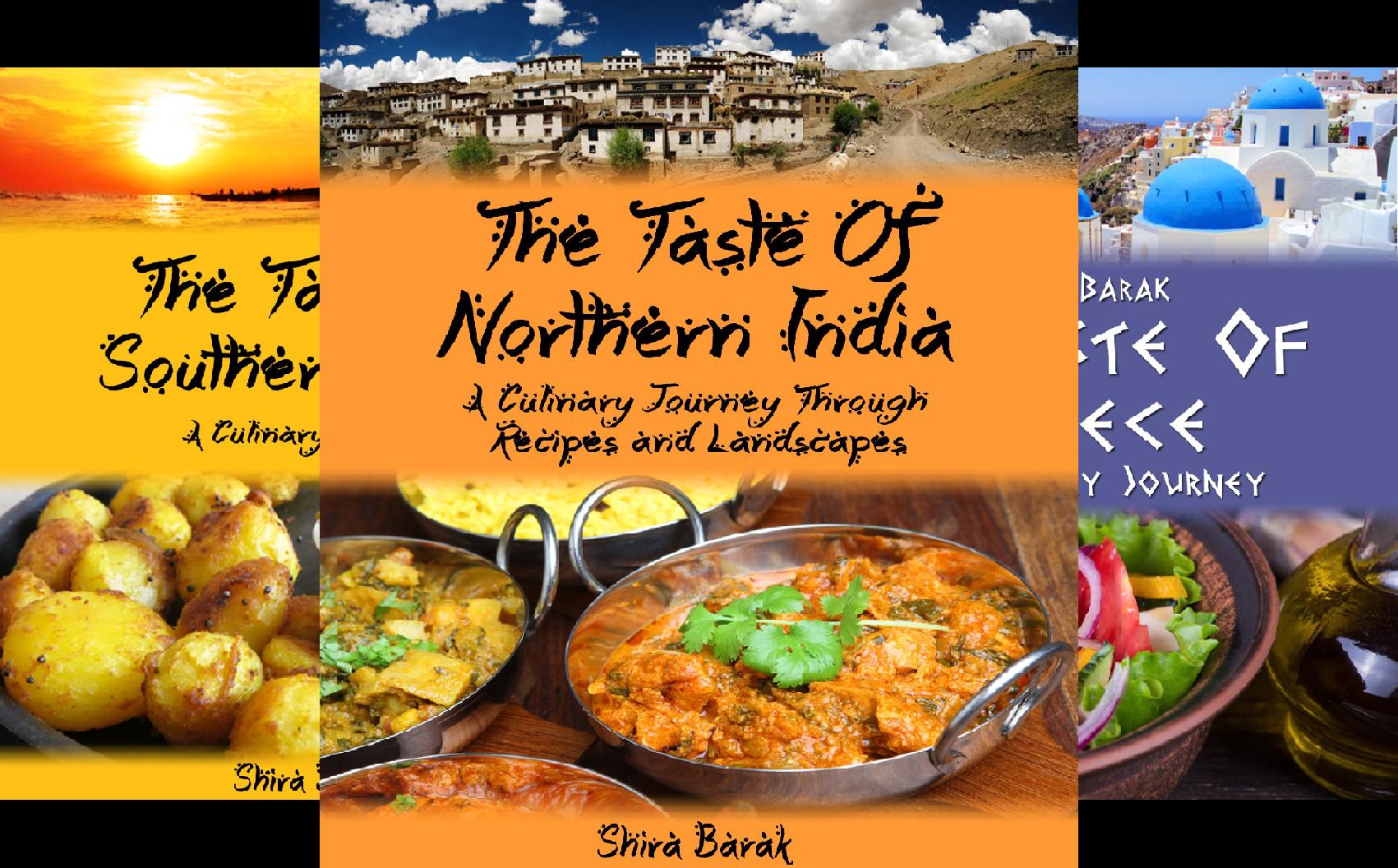 Culinary Journey Cookbooks (3 Book Series)