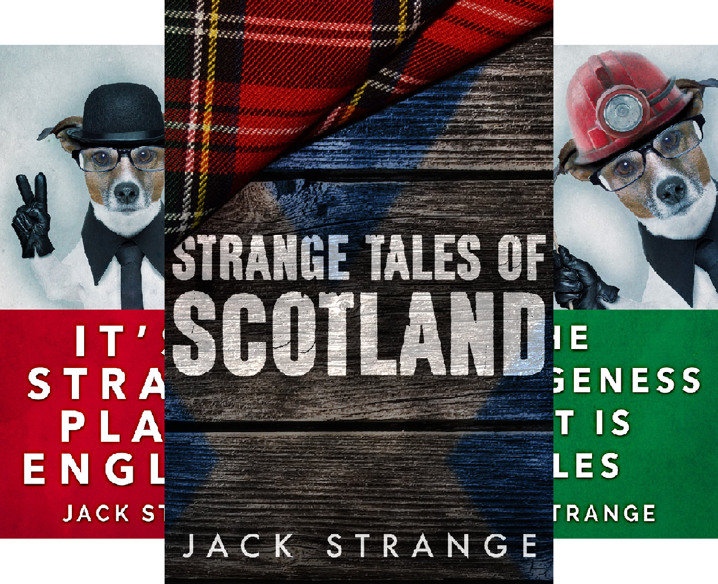 Jack's Strange Tales (5 Book Series)