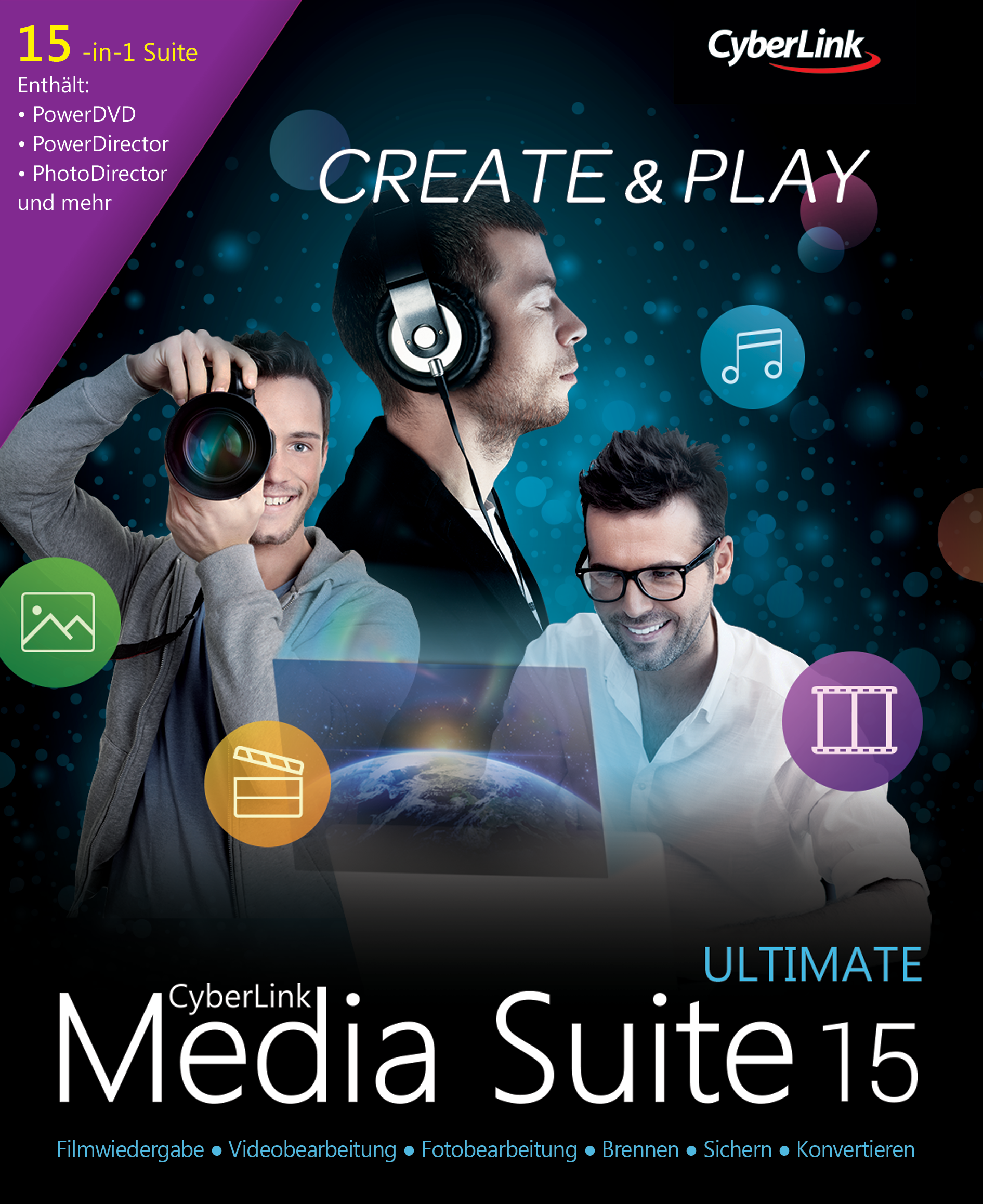CyberLink Media Suite 15 Ultimate [Download]