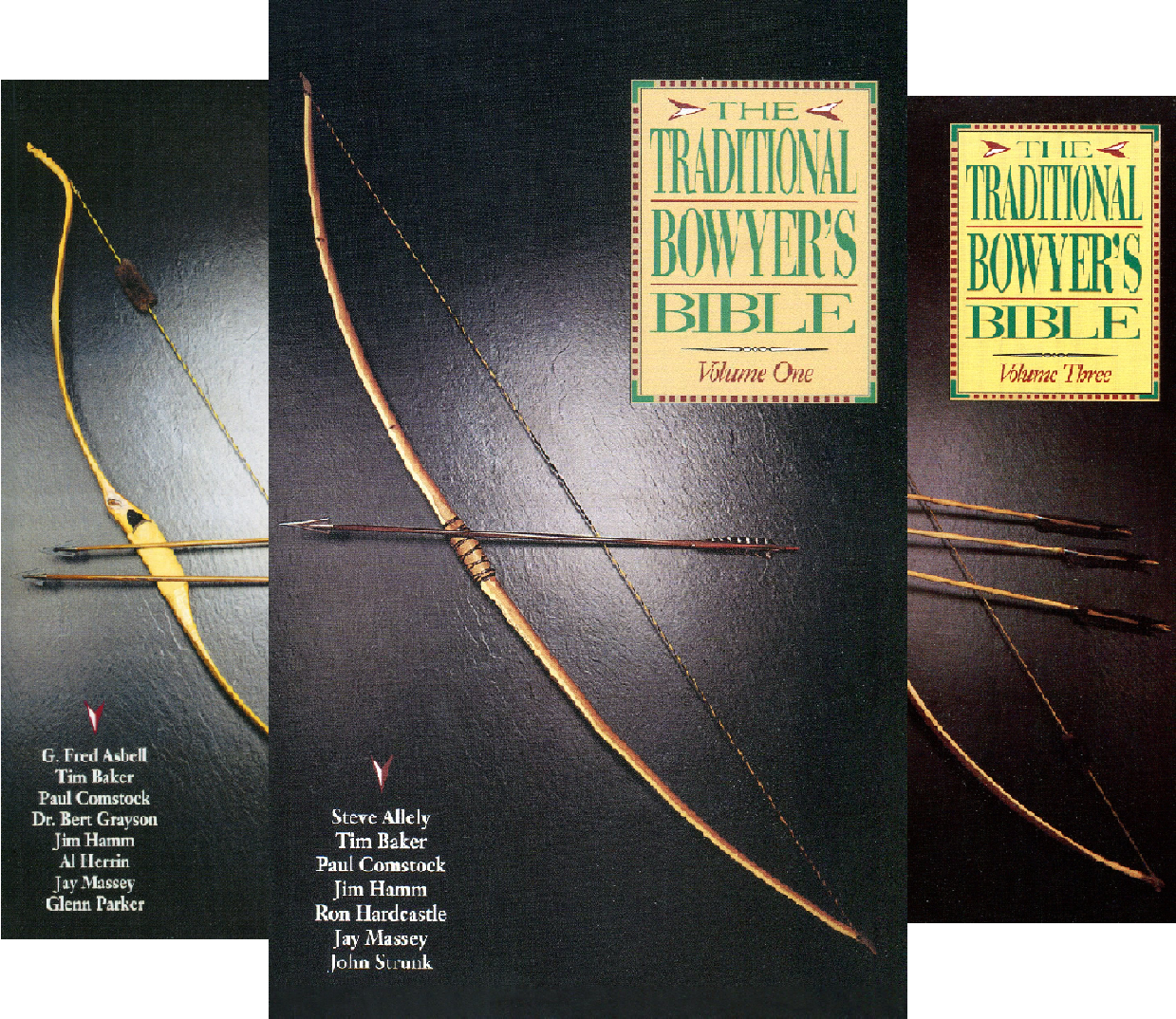 Traditional Bowyer's Bible (4 Book Series)