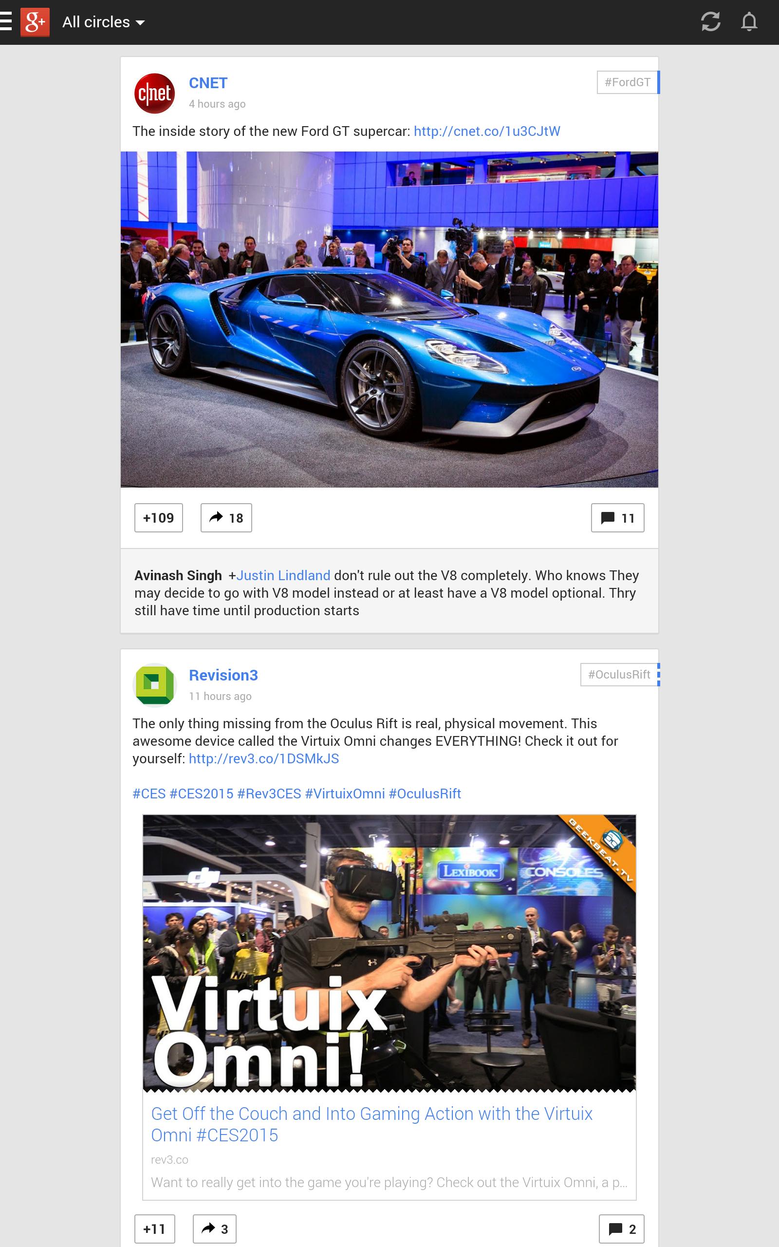 Google Plus - 2