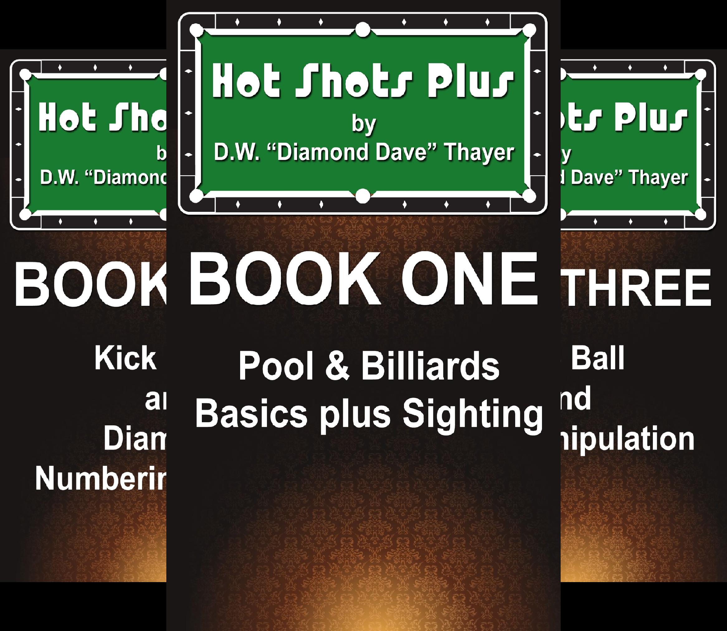 Hot Shots Plus - 6 Book Pool and Billiards Series (6 Book Series)
