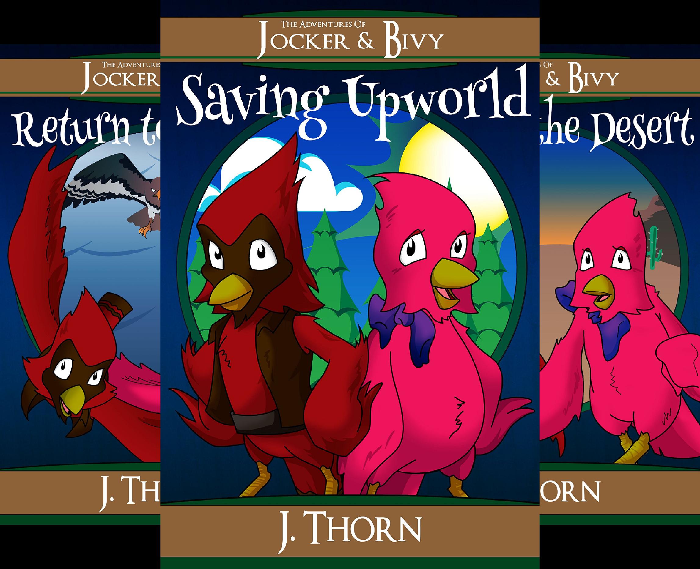 The Adventures of Jocker & Bivy (4 Book Series)