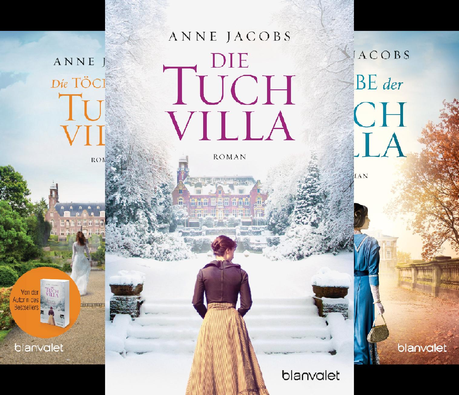 Die Tuchvilla Saga (Reihe in 3 Bänden)