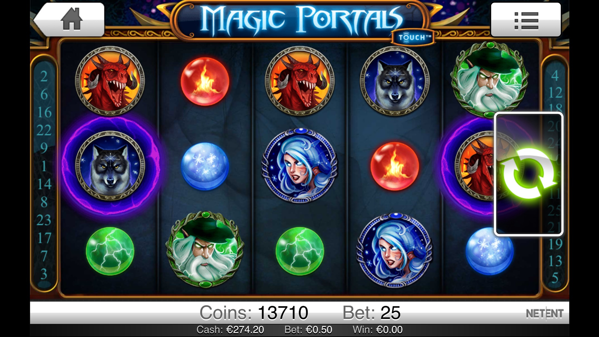 online casino app book of magic