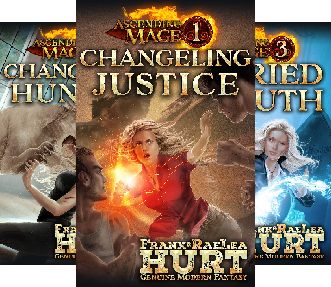 Ascending Mage (4 Book Series)