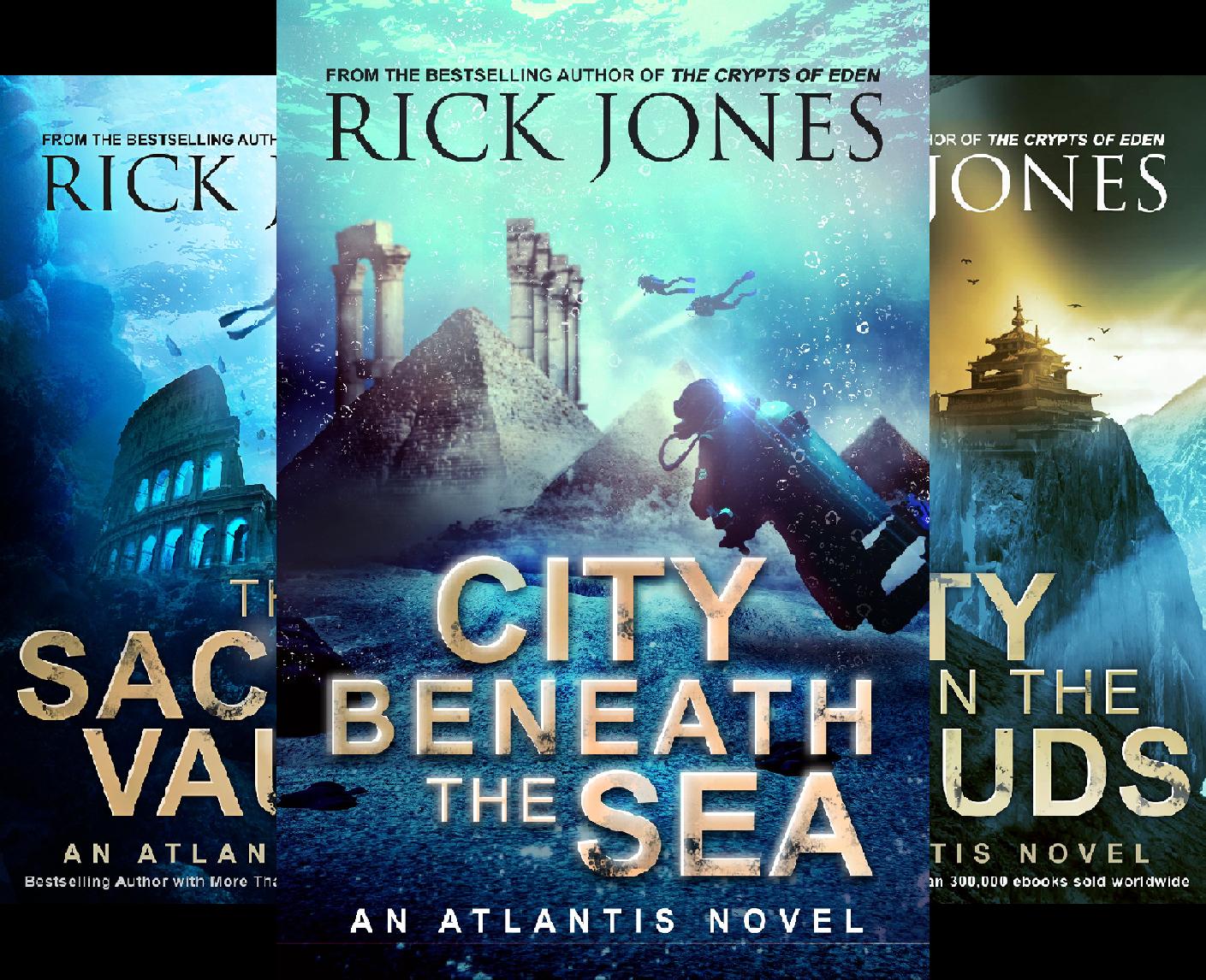 The Quest for Atlantis (3 Book Series) (Quest Atlantis For)
