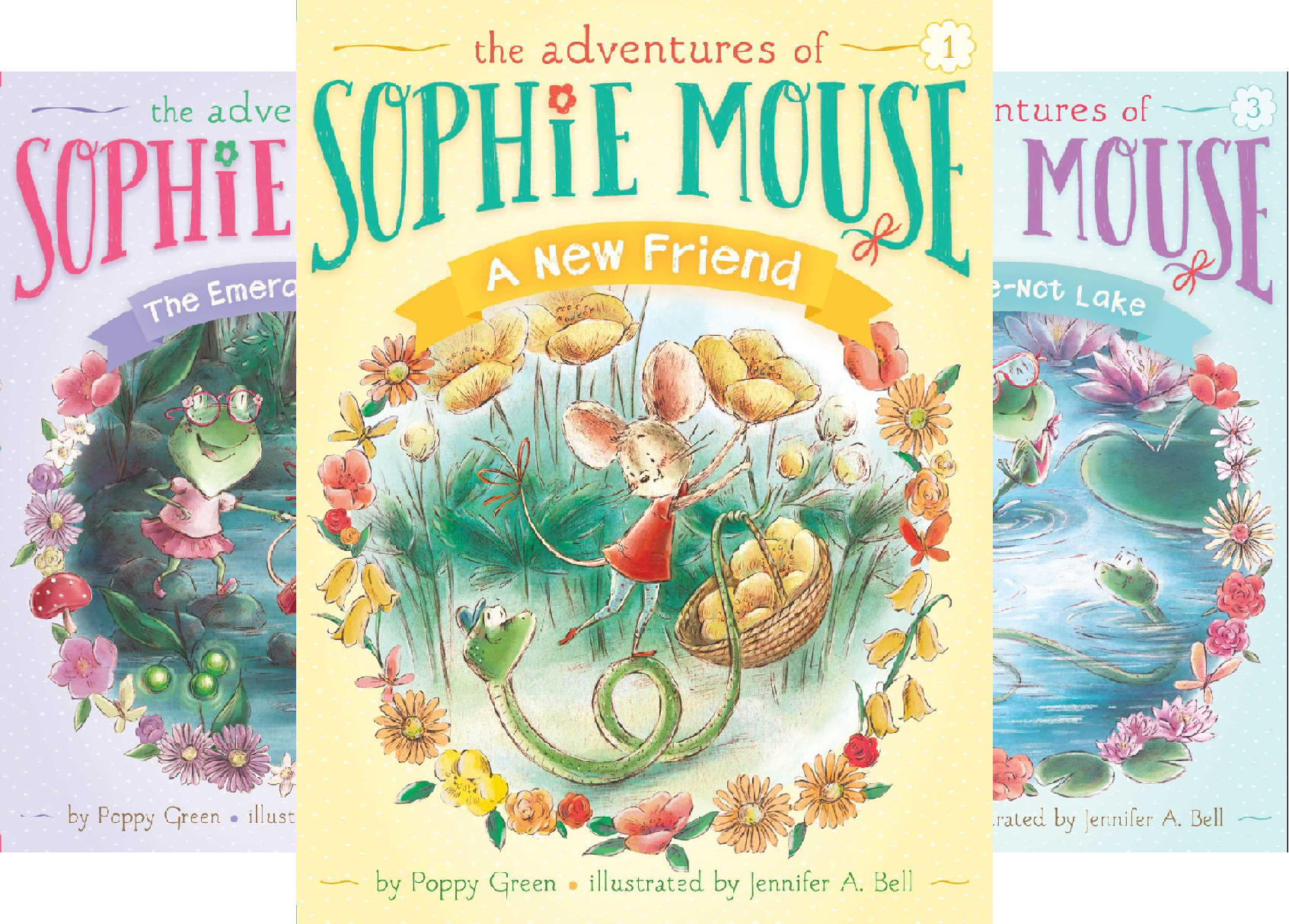 The Adventures of Sophie Mouse (15 Book Series)