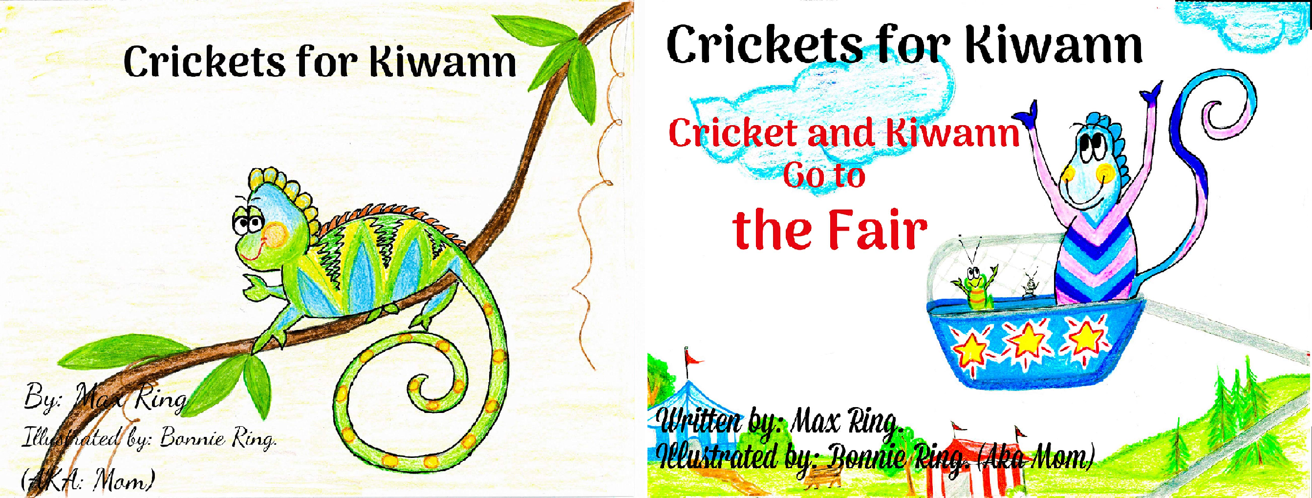 Cricket-bundle (Crickets for Kiwann (2 Book Series))