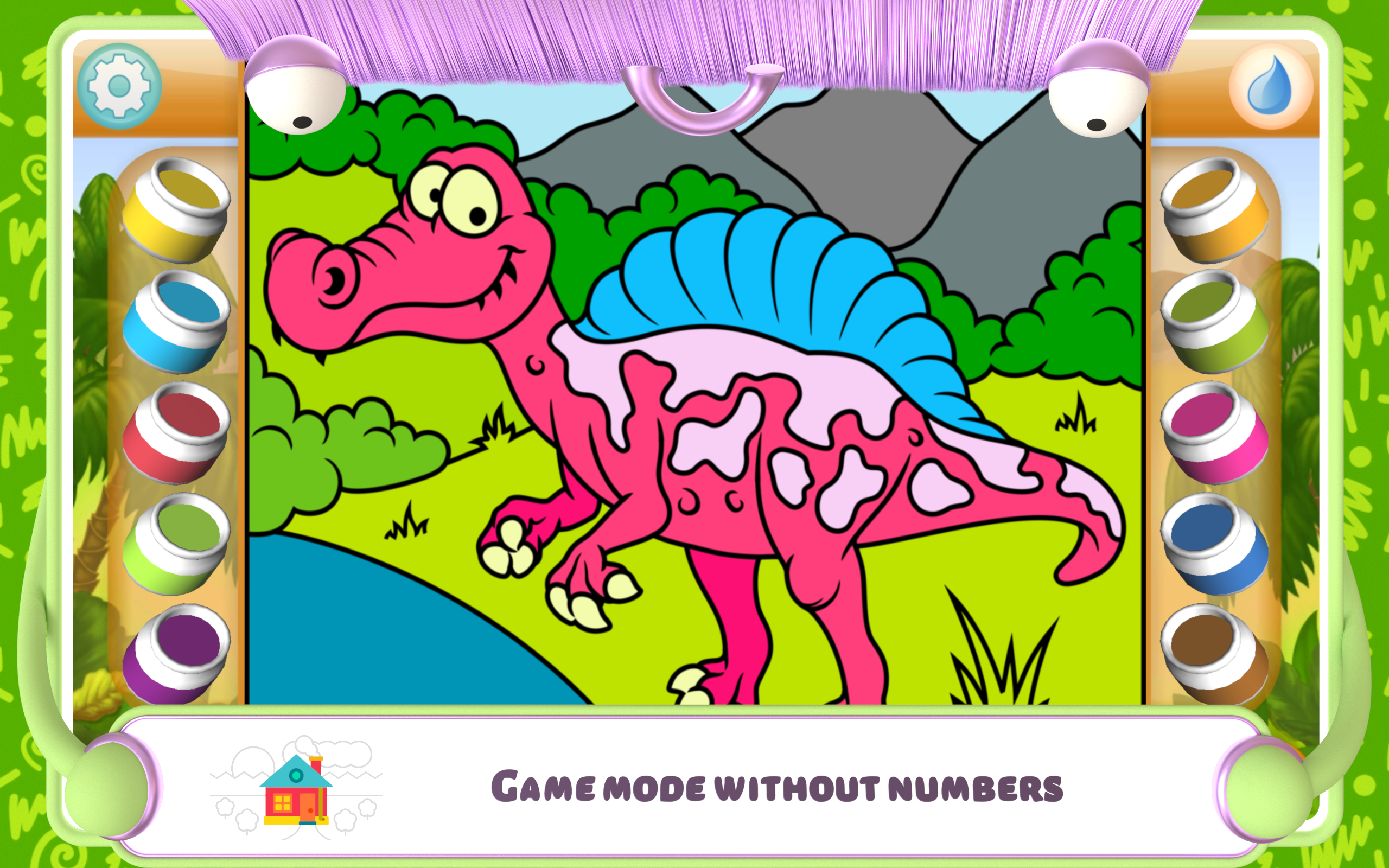 Paint by Numbers - Dinosaurs +: Amazon.co.uk: Appstore for ...