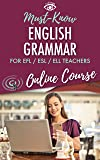 Best Esl Softwares - Must-Know English Grammar for EFL / ESL / Review