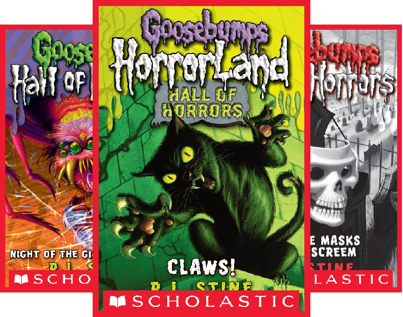 Goosebumps Hall of Horrors (6 Book Series)