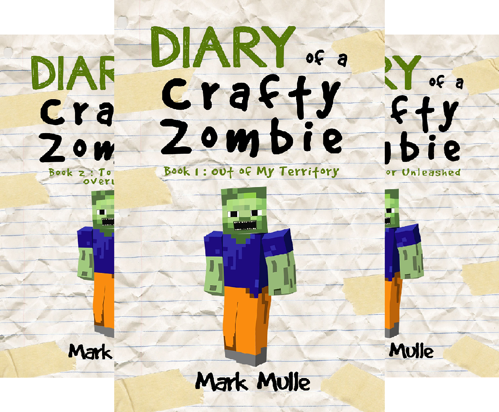 Diary of a Crafty Zombie (3 Book Series) - Fable Video-spiel