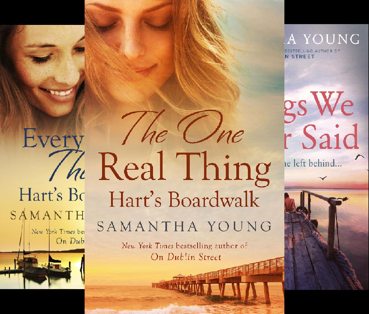 Hart's Boardwalk (3 Book Series)
