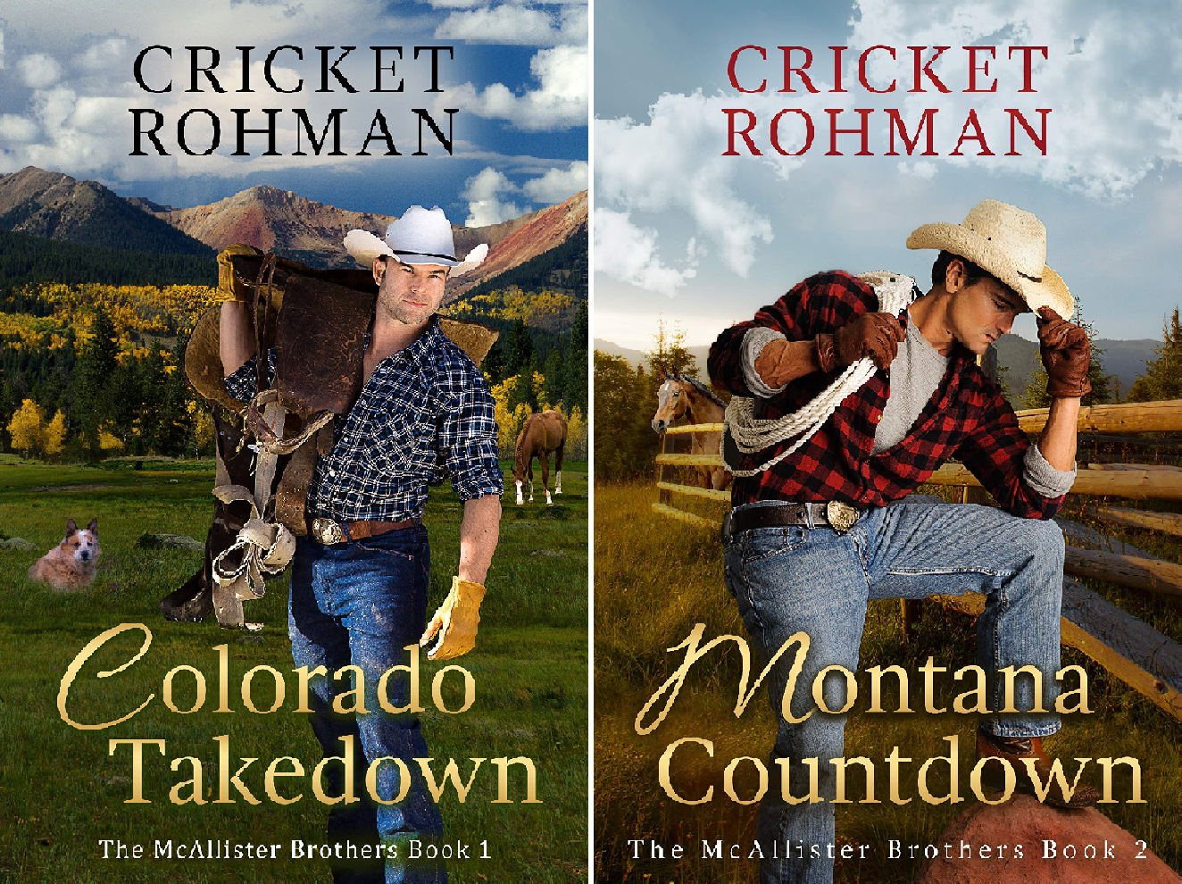 Cricket-bundle (The McAllister Brothers (2 Book Series))
