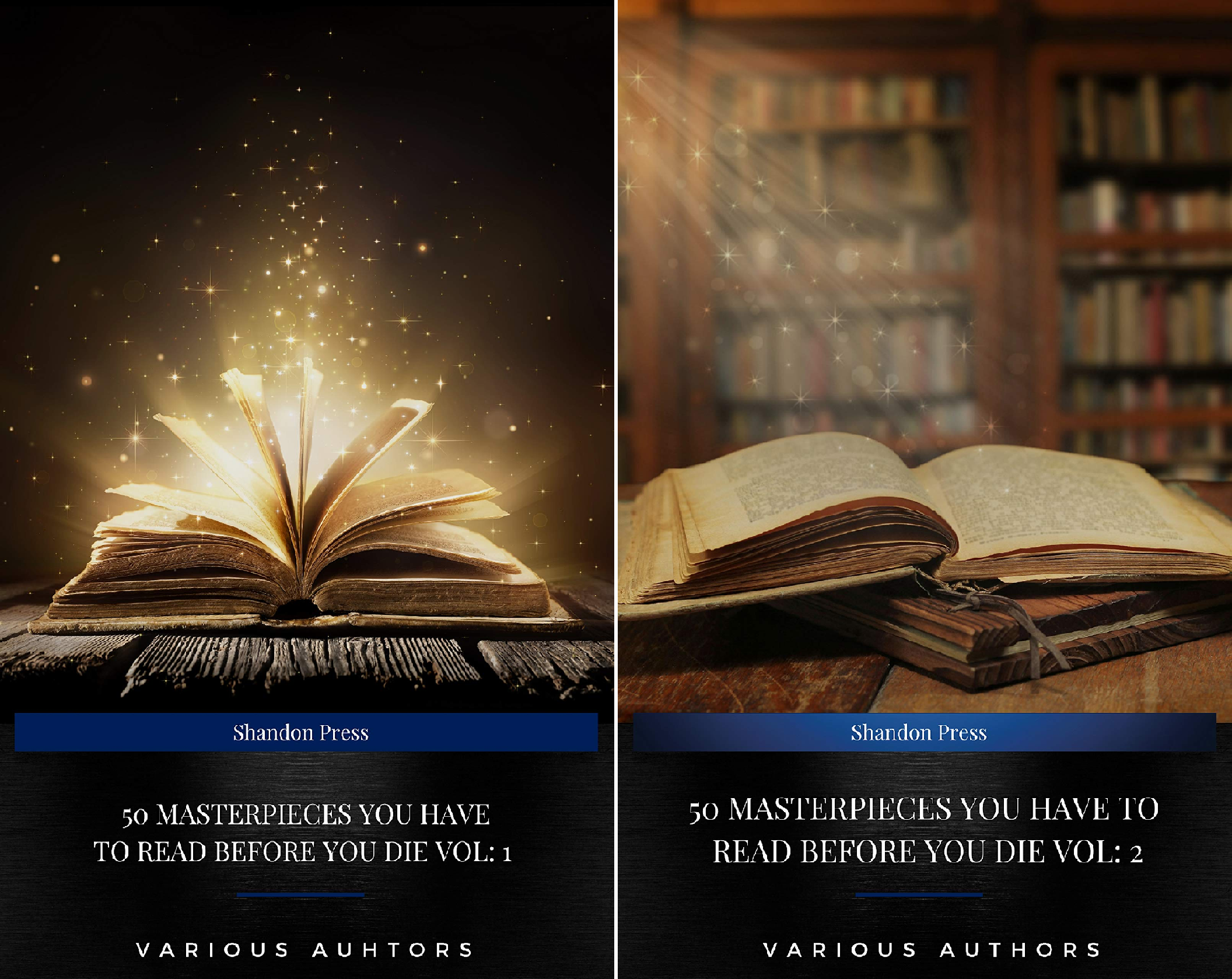 50 Masterpieces you have to read before you die (2 Book Series)