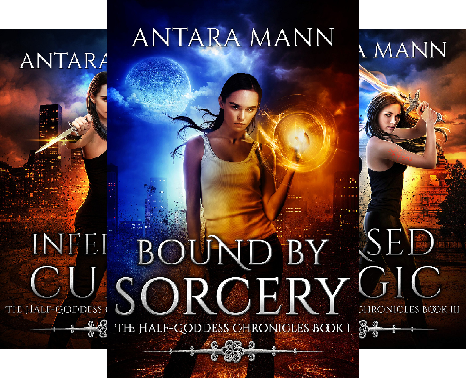 The Half-Goddess Chronicles (3 Book Series)
