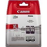 Canon PG-512 Cartouches Noires Pack de 2