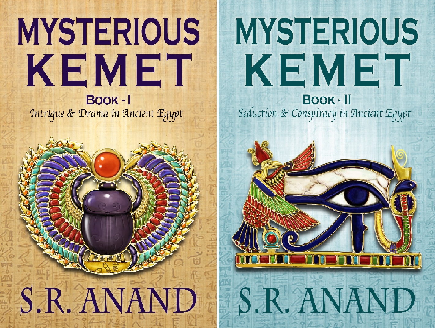 Mysterious Kemet (2 Book Series)