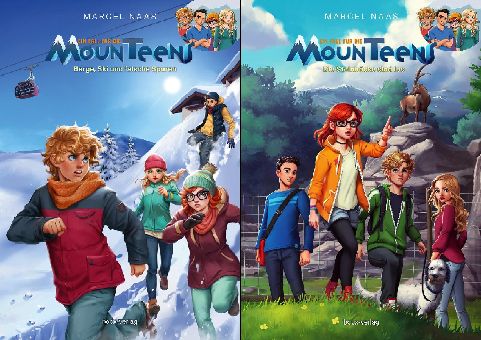 Ein Fall für die MounTeens (Reihe in 2 Bänden)