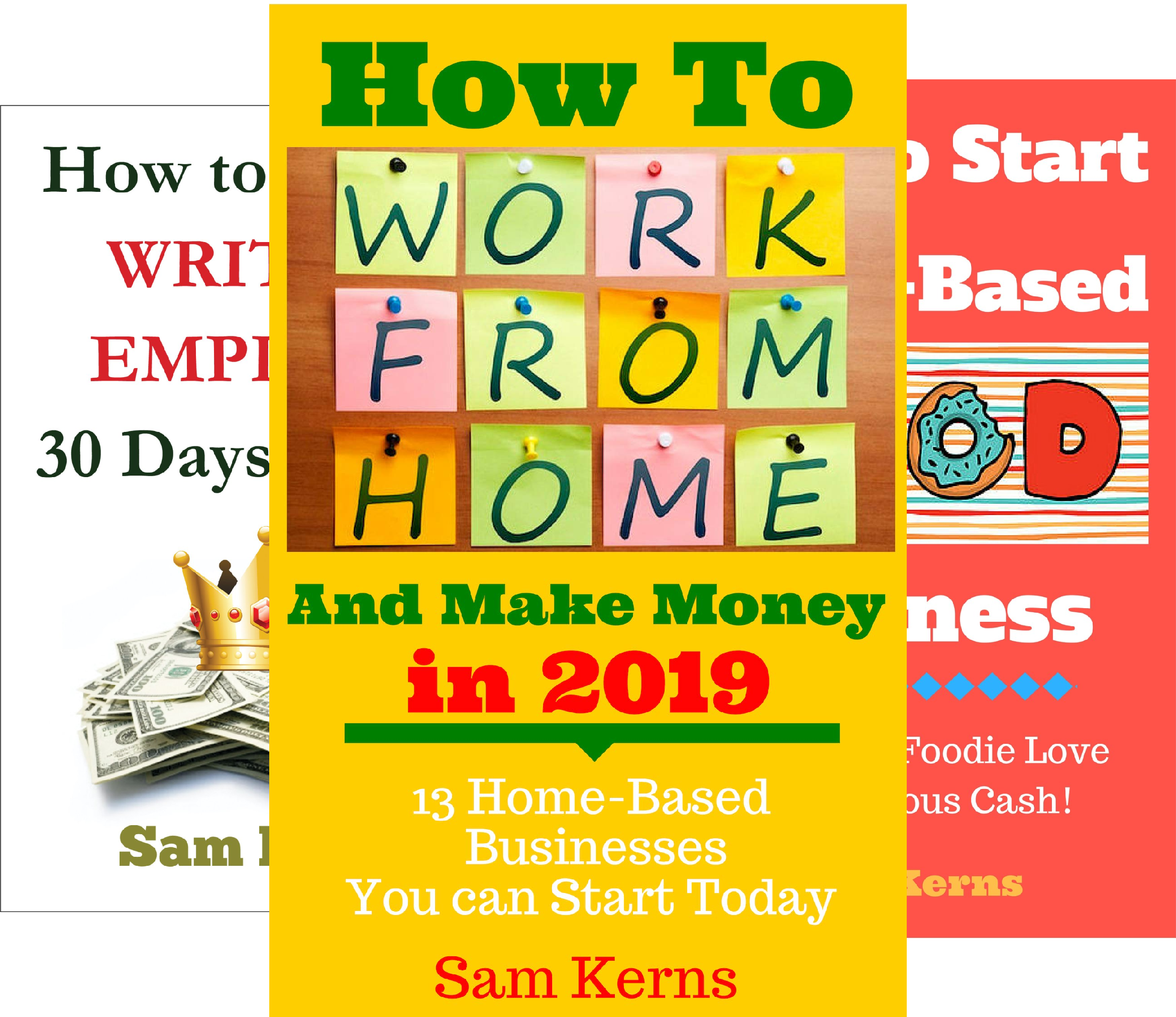 Work From Home Series (9 Book Series)