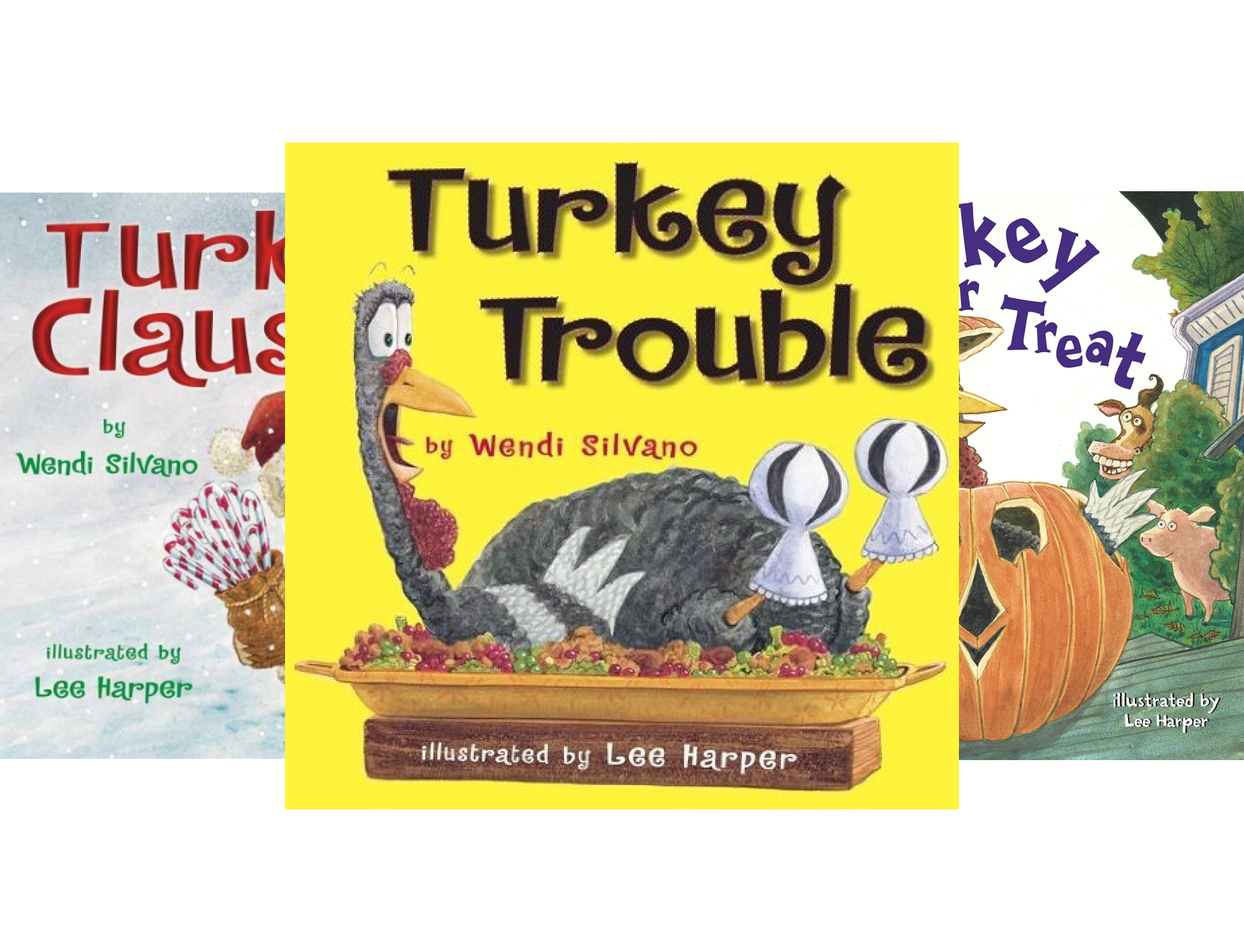 Turkey Trouble (4 Book Series)