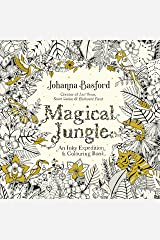 Magical Jungle: An Inky Expedition & Colouring Book (Colouring Books) Paperback