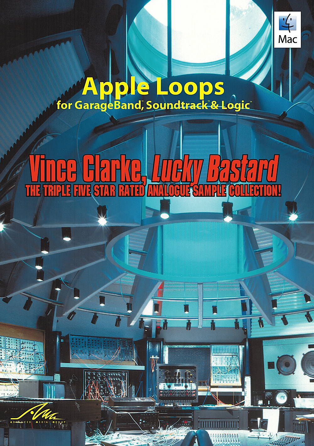 Price comparison product image Vince Clarke, Lucky Bastard - Apple Loops from the King of the Synth [Download]