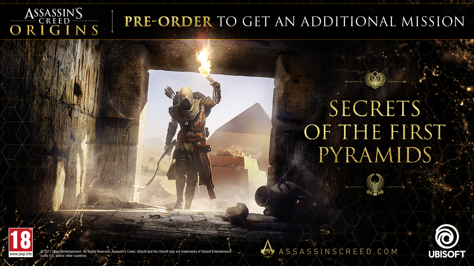 Assassins Creed Origins Uplay Code galerija