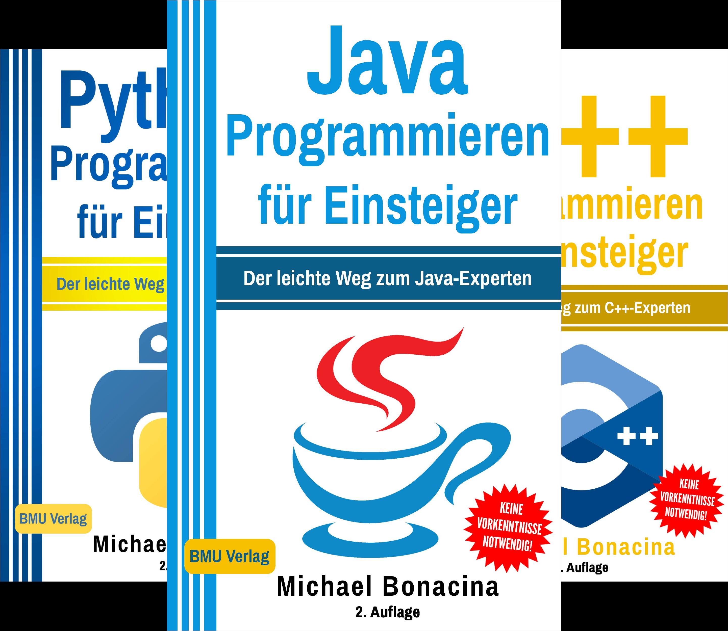 Einfach Programmieren lernen (Reihe in 6 Bänden)
