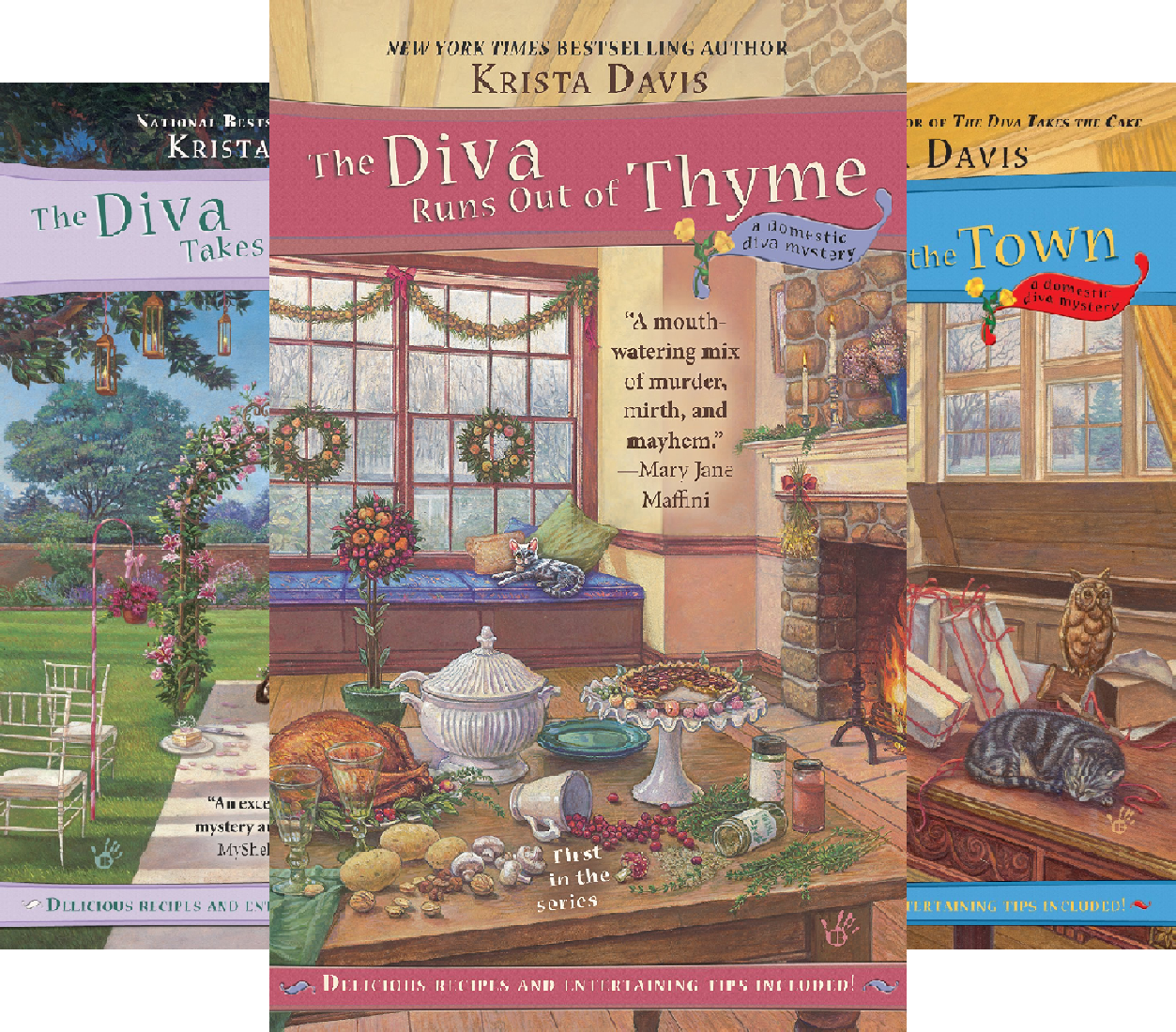 A Domestic Diva Mystery (12 Book ()