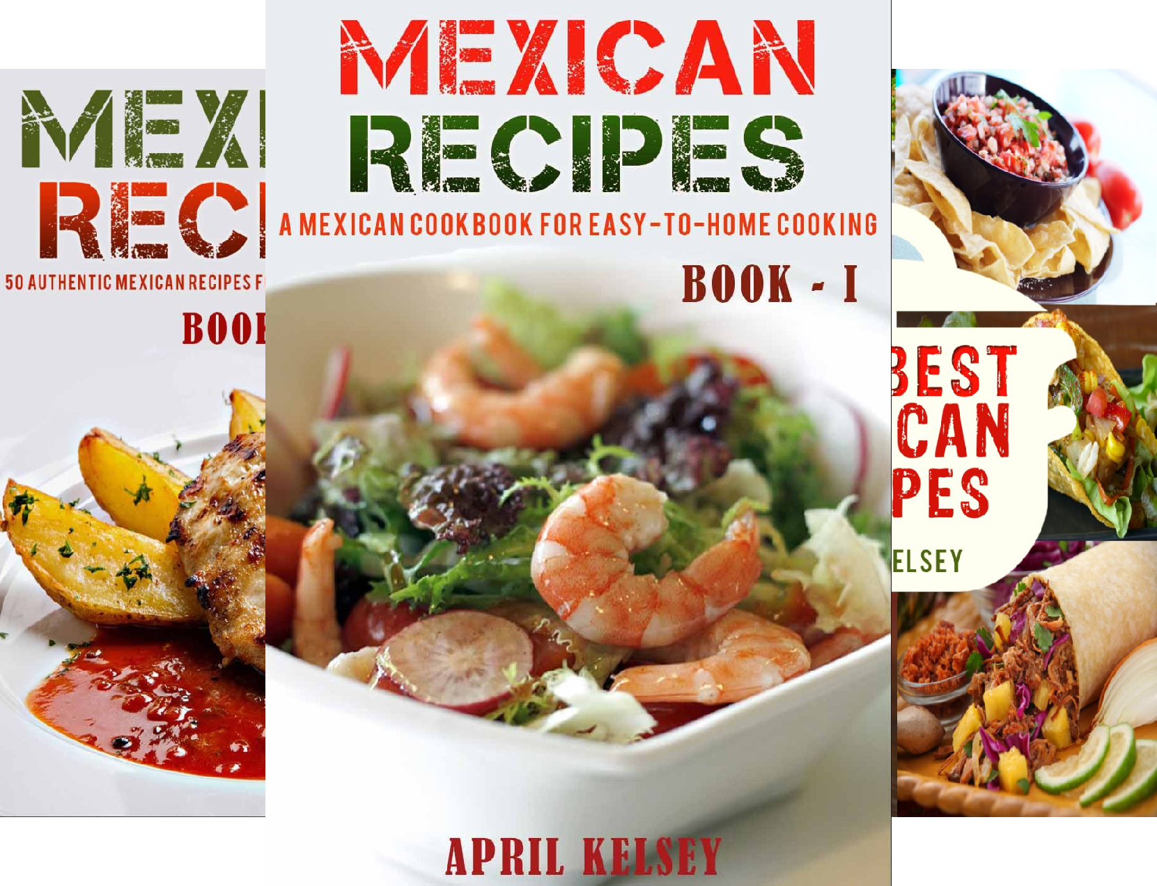 Mexican Cookbook (3 Book Series)