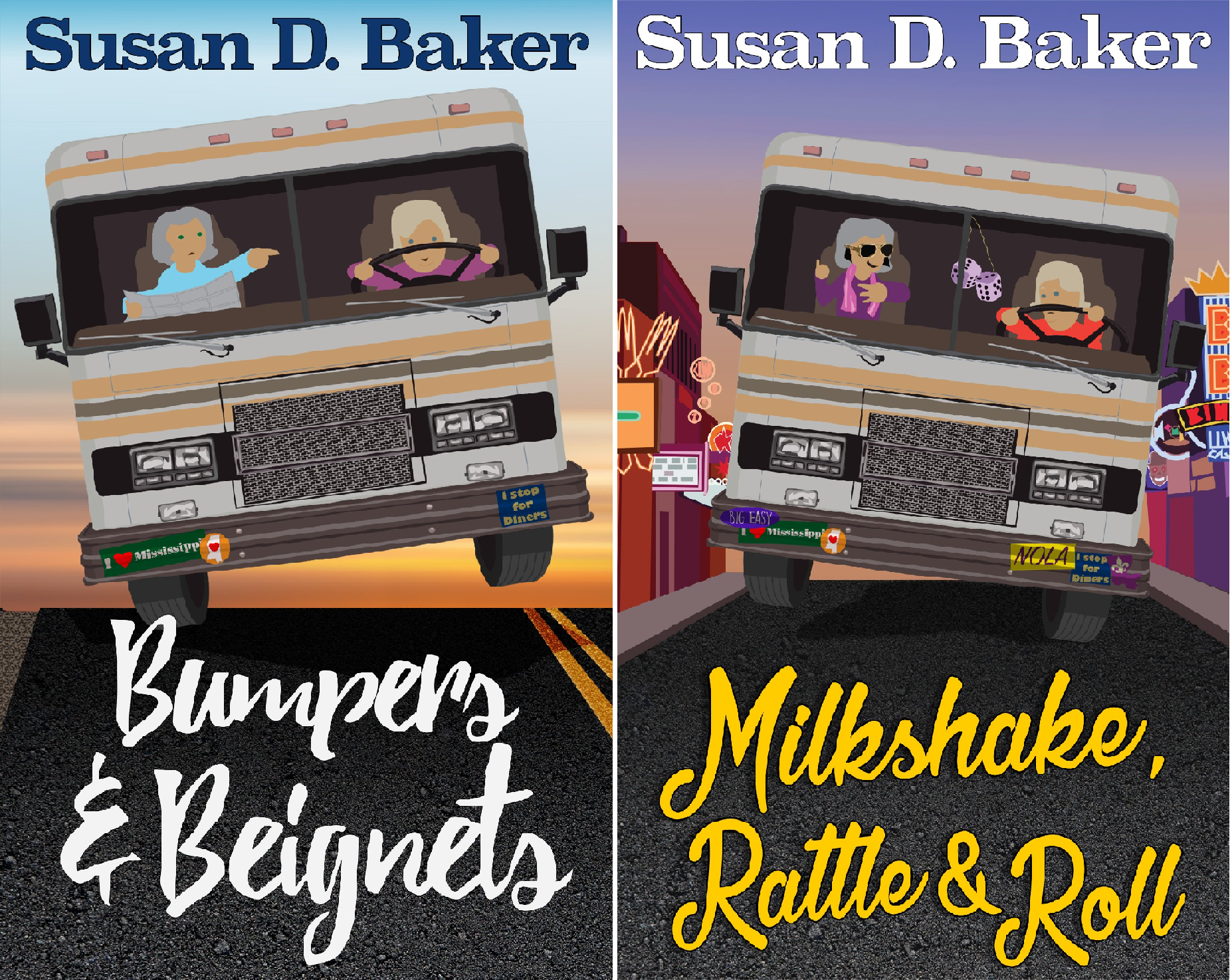 A Thandie and Eloise Culinary Cozy Mystery Series (2 Book Series)