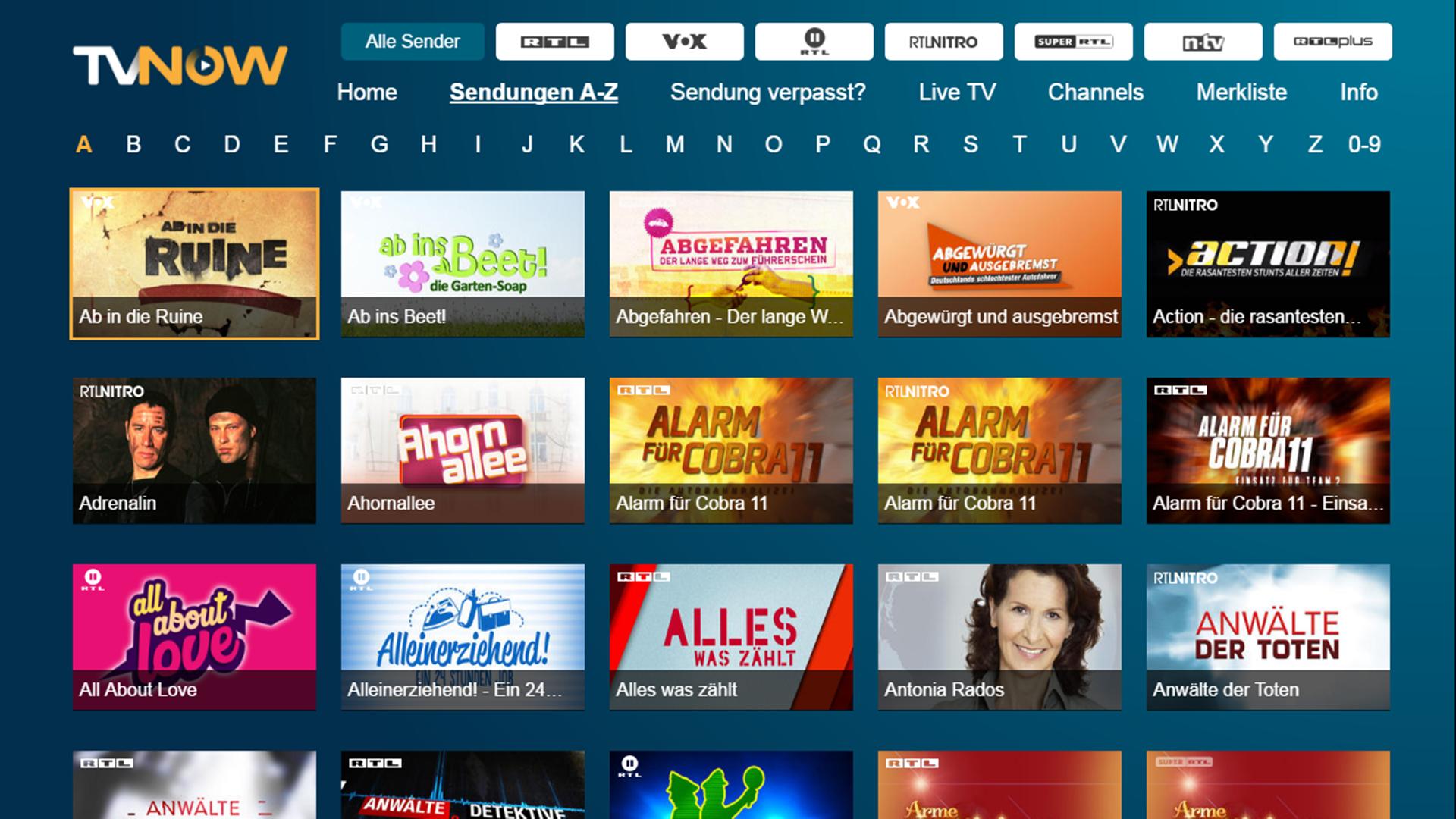 Tv Now Mediathek