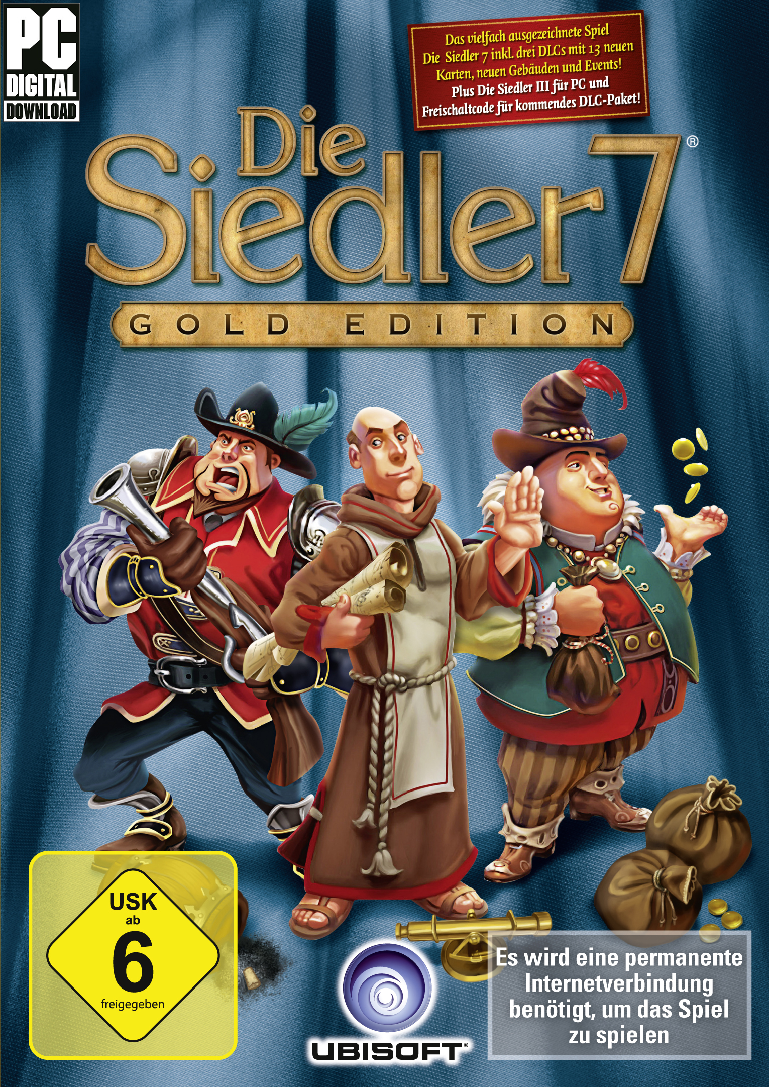 The Settlers 7: Paths to a Kingdom - Deluxe Gold Edition [PC Code - Uplay]